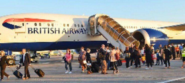 Coronavirus British nationals stuck in Accra after UK evacuation flight made to return